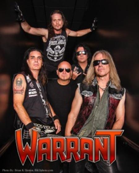 WARRANT CONCERT, Watseka Theatre, 3-18-2017 Glam Rock at it's finest